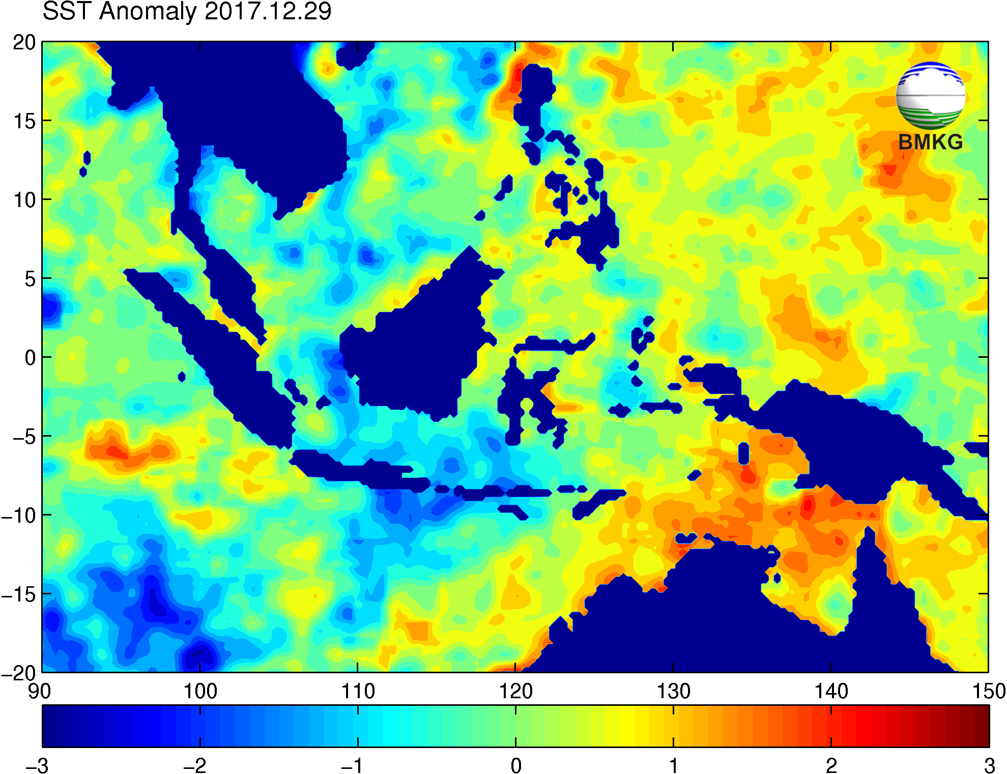 SST Anomaly Indonesia